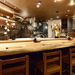 追っかけ鮨 地魚料理 松輪 - 一階全景