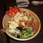 12064986 - 野菜たっぷり コブサラダ
