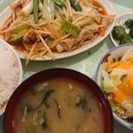 ふぁみりー - 料理写真:ねぎからし定食700円(税込)