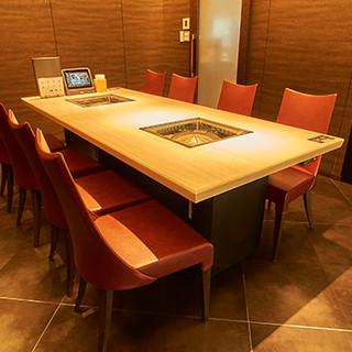 8名様までお通し可◎接待や会食に最適な完全個室をご用意