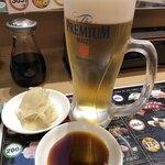 魚屋さんの新鮮回転寿司 - ドリンク写真: