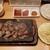 やっぱりステーキ - ミックスカットステーキ(1000円)です。