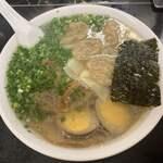中華そば 高はし - 雲呑麺(醬蛋トッピング)