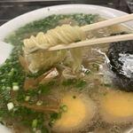 中華そば 高はし - 麺アップ