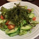 Okinawadainingunagomi - 海ぶどうのサラダ