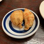Okinawadainingunagomi - お通し、この薩摩揚げなかなか美味い!追加オーダーした。