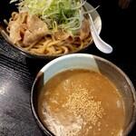 山形飛魚 亞呉屋 - どろつけ麺(肉入り)並870円