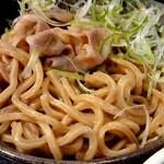 山形飛魚 亞呉屋 - 麺はデフォで400㌘あります