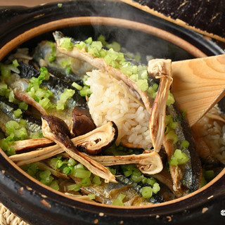 しげ田イチオシ!季節の旬の食材を使った「究極の土鍋ご飯」