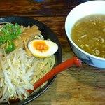 12066411 - 塩つけ麺(770円)大盛