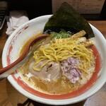 のだ麺 ~縁~ - 縮れ中太麺