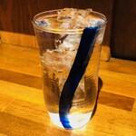 鎌倉酒店 - 本日の前割り焼酎グラス(290円)