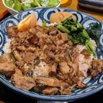 120667826 - 日替わりランチ 魯肉飯