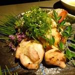 名古屋コーチン 個室居酒屋 京膳 - 若鶏の味噌つけ焼き