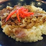 丸亀製麺 - 牛丼大盛