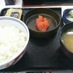 吉野家 - 辛子明太子定食 本体価格¥368