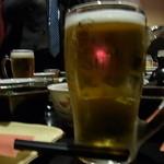 12068209 - 生ビールで乾杯♪