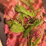 肉talian 肉バル&ワイン&イタリアン - ローストビーフ  ソースがスパイシー