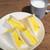 Drip-X-Cafe - ふんわりタマゴサンドモーニング、ミルク