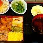 鳥良 - 鶏照り焼き定食  980円
