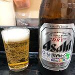 ひょうたん - ビール中瓶