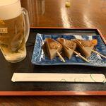 弘法の里湯 食事処 - 料理写真:生ビール(540円)