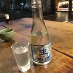 120689862 - はすみ 「黒松白鹿 生貯蔵酒300ml」700円⇒770円
