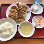翠葉  - 餃子定食
