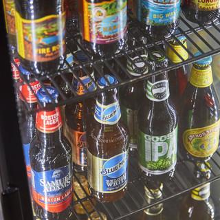 海外の美味しい「クラフトビール」を取り揃えております。