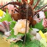 磯魚・イセエビ料理 ふる里 - 料理写真: