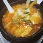 中華料理 福源樓 - 料理写真:キムチ鍋 900円