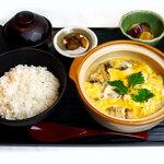 炭焼親子丼の店 鶏玉 - 料理写真:12月1日からスタート!【柚子塩親子とじ定食】