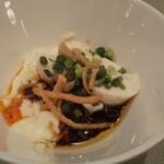 120700817 - ピリ辛のおぼろ豆腐