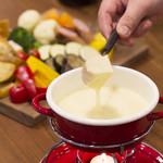 ファイルカフェ - チーズフォンデュ ※写真はイメージです
