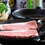 もん善雅 - ステーキ鍋