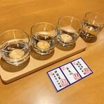 近江牛 岡喜本店 - 飲み比べ