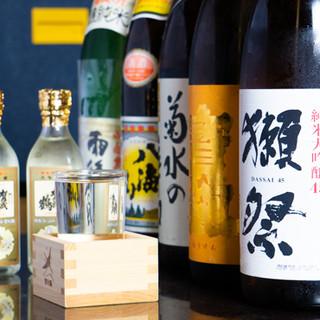 季節ごとに品揃えが変わる日本酒で、四季の味わいに酔いしれる