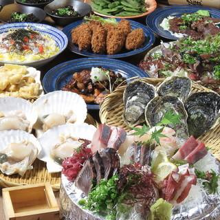 ブランド鯖の〆さばやお酒のお供、宴会コースもございます!