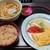 屋島 - 出汁巻き定食・かやくご飯付720円込