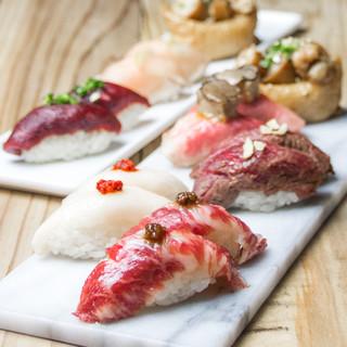 中洲×肉寿司