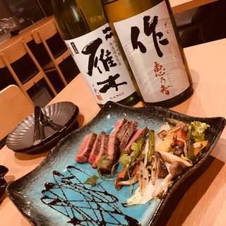 イタリアンと日本酒のマリアージュ