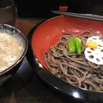 つけ鴨うどん 鴨錦 - 料理写真:鴨そば