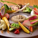 sacco - 料理写真:地野菜の菜園風~大地の皿