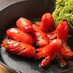 PICK UP BAR&Cafe - 昔懐かし赤ウィンナーの黒胡椒炒め