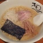 子竜 - 塩ラーメン \650