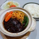 レストラン三幸 - ビーフシチューセット1000円(税込)