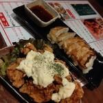 ちゃい九炉 - 餃子とチキン南蛮