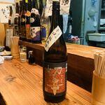 亀は萬年 - ポン酒1