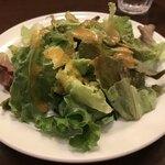 ラ クッチーナ ビバーチェ - ランチのセットのサラダ。