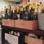 ラミ - ワインのボトルは立体実物メニュー
